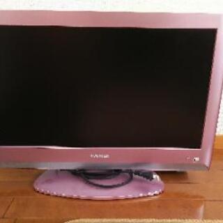 東芝 液晶テレビ ピンクお譲りします