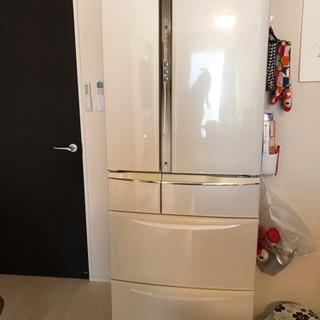 パナソニック冷蔵庫☆2011年製☆NR-F455T-W形