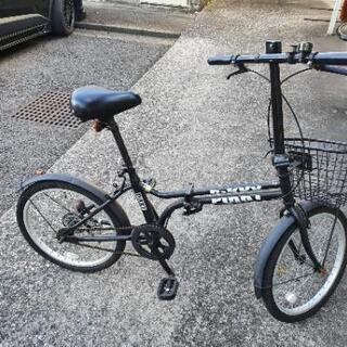 【状態良】折り畳み式 自転車