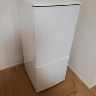 SHARP  シャープ ノンフロン冷凍冷蔵庫  SJ-14W-W...