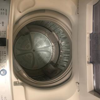 洗濯機 AQUA製 6.0kg 2015年製造