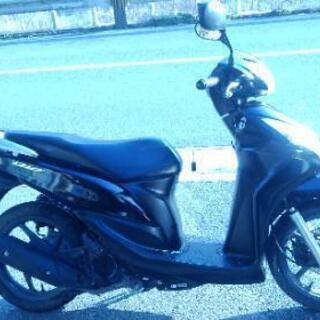ホンダディオ110CC黒