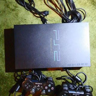 【動作品】 PS2 本体一式  PS2 SCPH-30000・ ...
