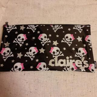 claire's ドクロ柄ポーチ☠️