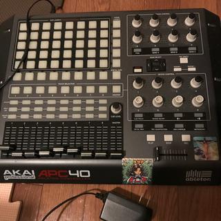AKAI APC40 MIDIコントローラー