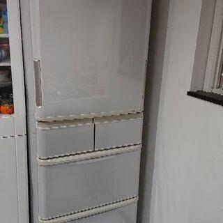SHARP どっちもドア 冷蔵庫 424L プラズマクラスター