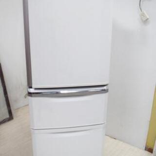 MITSUBISHI 三菱 ノンフロン3ドア冷凍冷蔵庫 ホワイト...