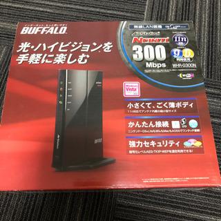 バッファロー 無線LANルーター WHR-G300N 美品