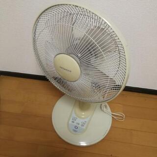 【お譲りします!】日立製の白色扇風機