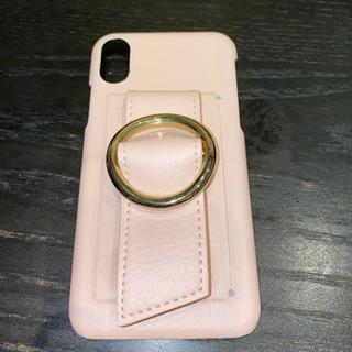 iPhone x・xsケース ピンク