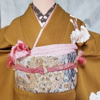 振り袖g、長襦袢、袋帯、小物セット - 京都市