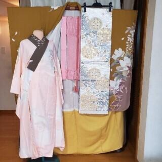 振り袖g、長襦袢、袋帯、小物セット - 服/ファッション