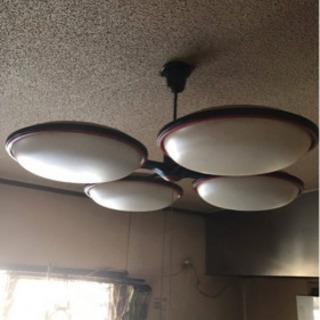 昭和レトロ アンティーク 天井照明 シーリングライト