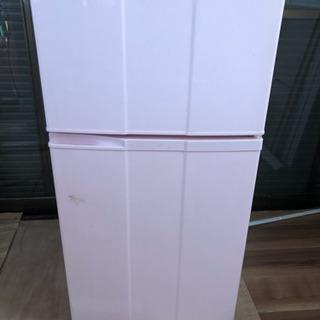 ピンク冷蔵庫