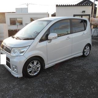 H21 ムーヴカスタムRS 車検2年付 社外CDDVDデッキ ロ...
