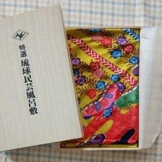 琉球民芸風呂敷