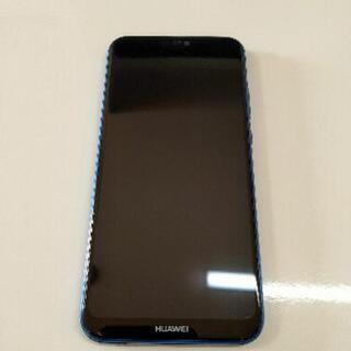 Huawei p20 lite SIMフリースマートフォン クラ...