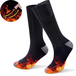 【新品未使用】電熱靴下 電熱ソックス ヒーター靴下 防寒 保温 ...