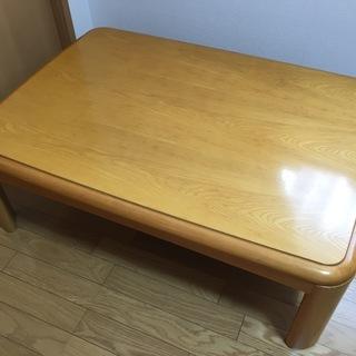 【受付中】家具調こたつ(ローテーブル)