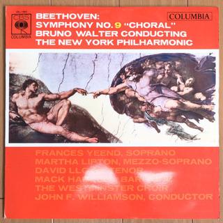 ベートーヴェン:合唱 / ブルーノ・ワルター LP レコード