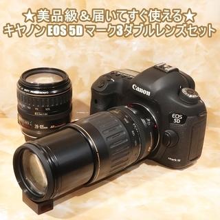 ★美品級&届いてすぐ使える★キヤノン EOS 5D マーク3  ...