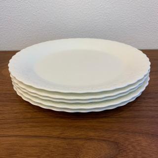人気シリーズ ナルミ シルキーホワイト  平皿5枚
