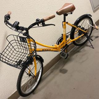 (取引中)折りたたみ自転車 28日まで!