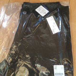メンズ カラーパンツ ブラック Lサイズ