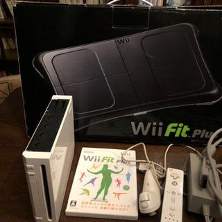 Wii本体とバランスボード、ソフトのセット