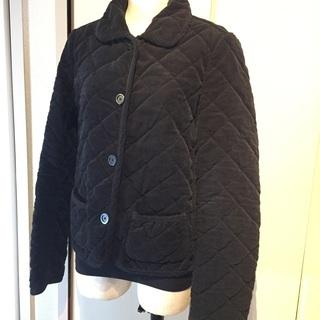 バーバリーロンドン 黒 キルティング中綿ジャケット Mサイズ 9...