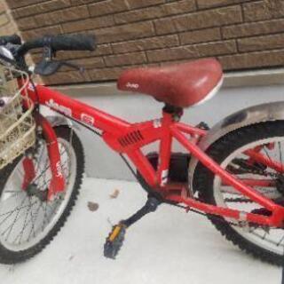 ジープ 18インチ 子供用の自転車です!