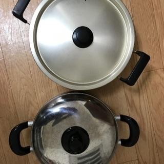 28〜30cm鍋、ケトル