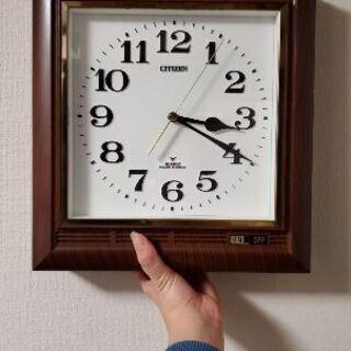 【引越しのため】立派な壁掛け時計【破棄予定】