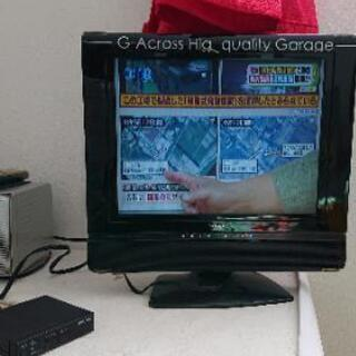 (再投稿)15inch テレビ 地デジチューナー付き ジャンク品?