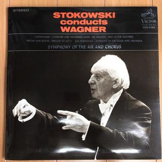 ワーグナー名曲集 / レオポルド・ストコフスキー LP レコード