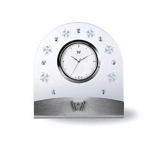 新品 ウェッジウッド クリスタル置時計