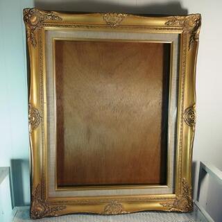 高級 油彩 額縁 F6 アンティーク ゴールド 未使用保管品