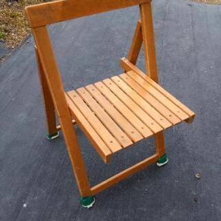木製ウッド折りたたみチェア