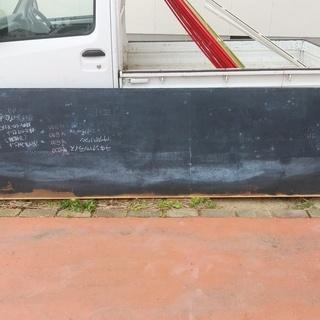 差し上げます。カフェで使用していた大型黒板3m 作れば高いですよ...