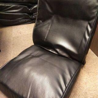 【1円スタート 引き取り限定 大阪】椅子 リクライニング チェア 黒