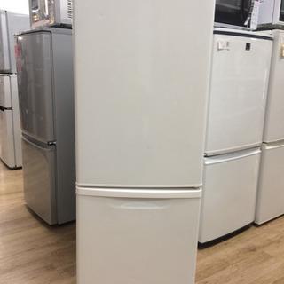 Panasonicの2ドア冷蔵庫です。