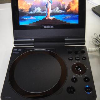 2010年製 東芝 ポータブルDVDプレーヤー SD-P75SW...