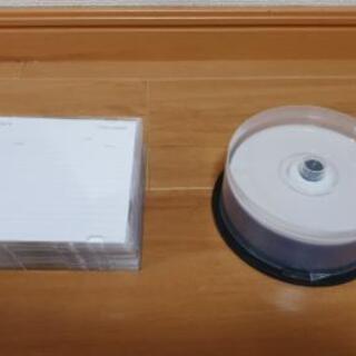 空のCD-R、DVD-R
