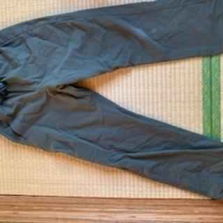 モンベル パンツ アウトドア オリーブ色150cm