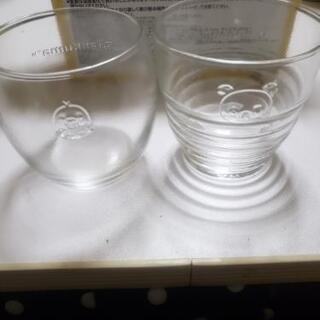 リラックマガラス小鉢とグラスセット