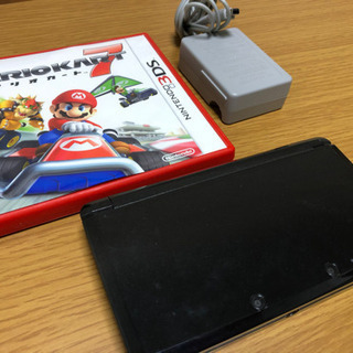 3DS本体とソフト(2種)