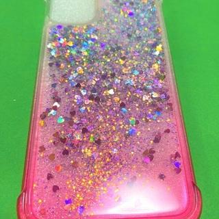 キラキラジェルカバーiPhone11用PINK