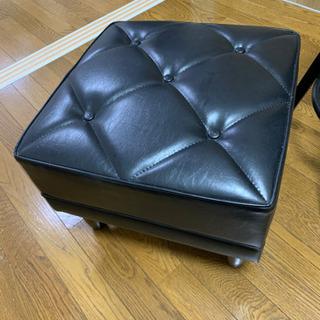 【1点のみ】カリモク60  オットマン ブラック