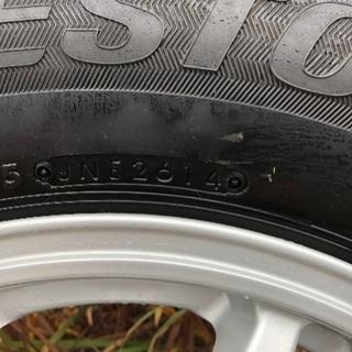 ハイエース スタッドレス タイヤ ブリジストンVL1