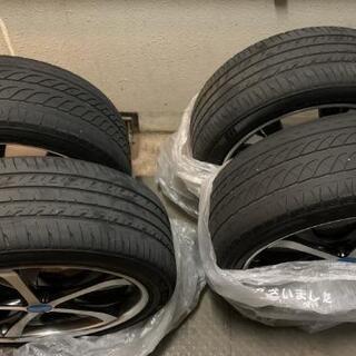 アルファードVで使用タイヤ4本ホイール付